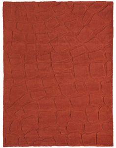 CROCODILE, hand-knotted double pile alpaca, 8'x10', $8,570. ROSEMARY HALLGARTEN: 415-456-2588; rosemaryhallgarten.com.   - HouseBeautiful.com