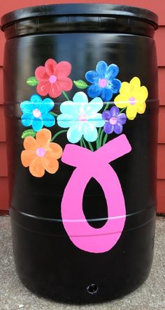 Rain Barrels - Watering Remedies Therapeutic Gardening for Breast Cancer!
