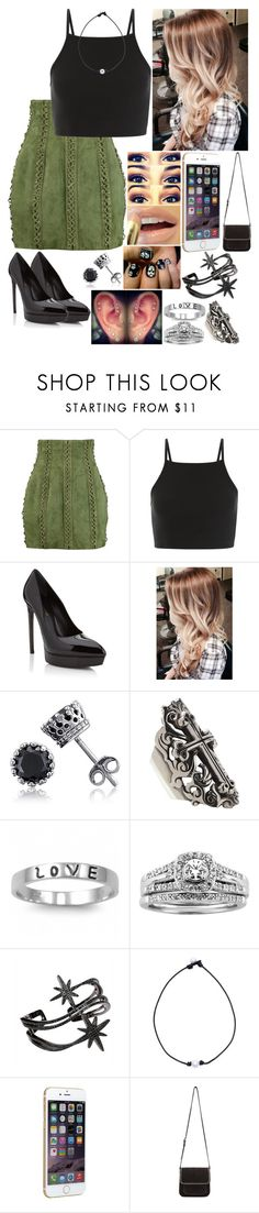 """Untitled #3237 - WrestleMania Axxess Day Three - 4/1/17"" by nicolerunnels ❤ liked on Polyvore featuring Balmain, Yves Saint Laurent, Free People, Alexander McQueen, J.A.K., BERRICLE, King Baby Studio, Fantasy Jewelry Box, A.Jaffe and APM Monaco"