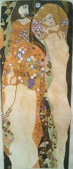 Gustav Klimt, Bisce d'acqua II, 1904-07