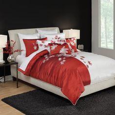 Croscill Home Mikasa Pure Red King Duvet Cover, Red by Croscill, http://www.amazon.com/dp/B0057V7KYG/ref=cm_sw_r_pi_dp_ZNxxrb0V4FNRJ