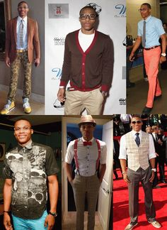 Russell Westbrook's nerdy fashions