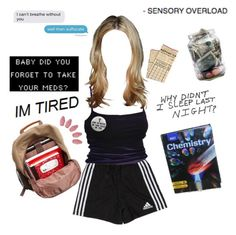 """""""im so tired"""" by angelo-t on Polyvore featuring art"""