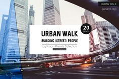 Urban Walk Lightroom Presets by Tim Root on @creativemarket