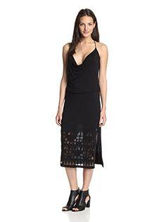 Babakul Women's Faye Cut Out Dress (Black)
