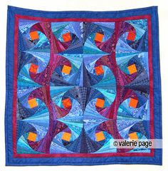 Quilt artist Valerie Page from Toronto, Canada