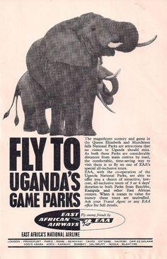 East Africa Airways Ad 1965