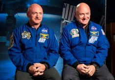 """NASA Twins Study Verifies Long-Term Health Effects of Space Travel - on """"Astronaut twins Scott (at right) and Mark Kelly participated in NASA's Twins Study while (and after) Scott spent close to a year in space. Scott Kelly Astronaut, Mark Kelly, Personalized Medicine, Space Shows, Space Facts, Gene Expression, Nasa Astronauts, Identical Twins, Studio"""