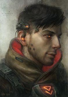 Cyberpunk, Illustrations by Magdalena Pagowska