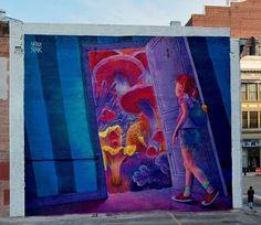 """Adventure Time"" by Natalia Rak in Providence, Rhode Island"