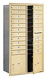 4C Horizontal Mailbox (Includes Master Commercial Locks) - Maximum Height Unit (56 3/4 Inches) - Double Column - 20 MB1 Doors / 2 PL's - Sandstone - Front Loading - Private Access by Salsbury Industries. $1236.45. 4C Horizontal Mailbox (Includes Master Commercial Locks) - Maximum Height Unit (56 3/4 Inches) - Double Column - 20 MB1 Doors / 2 PL's - Sandstone - Front Loading - Private Access - Salsbury Industries - 820996415462. Save 15%!