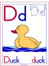 Letter D Duck Theme | Alphabet Preschool Lesson Plan Printable Activities and Worksheets