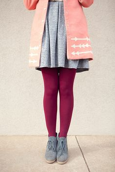 """beautiful colour combination from """"kendi everyday"""" (greys and pink/maroon)"""