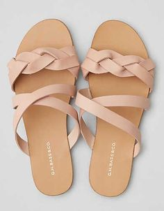 Bass Scarlett Sandal by American Eagle Outfitters Shoes Flats Sandals, Pink Sandals, Cute Sandals, Pink Shoes, Cute Shoes, Leather Sandals, Wedge Shoes, Me Too Shoes, Flat Sandals