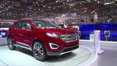 2016 Ford Edge is a mid-size SUV vehicle that belongs to the American company Ford. Ford 2016, 2016 Ford Edge, Current Generation, Mid Size Suv, Suv Cars, Fuel Economy, Ford Models, Edge Design