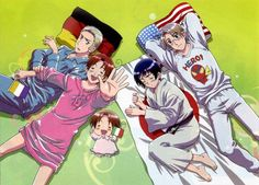 America kinda ruining axis stuff again *sighs* cutie. ITALY IS WEARING A NIGHTGOWN I REPEAT ITALY IS WEARING A NIGHTGOWN hetalia<<< America doesn't RUIN anything, ok? He is ADORABLE.