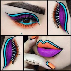 With hundreds of images, depicting her lip designs, @depechegurl's entire Instagram page is a grand showcase for her creative mind map. More: http://blog.furlesscosmetics.com/depeche-gurl/