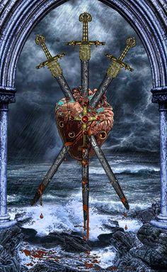 Three of Swords-Tarot Illuminati