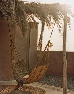 summer - hammock - boho