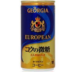 Georgia Coffee - European blend - Japanese Candy, Snacks & More - Oyatsu Cafe Japanese Candy, Coffee Drinkers, Georgia, Roast, Snacks, Food, Japanese Sweet, Appetizers, Coffee Lovers