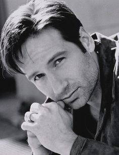 David Duchovny....I have loved him since I saw the very first promo for The X-Files TV show.  And he's still sexy.