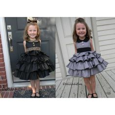 Blanche's Frilly Top and Dress PDF Sewing Pattern by Create Kids Couture
