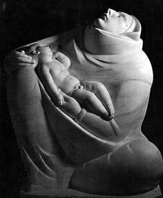 Mother and Child by Ivan Mestrovic