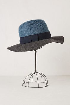Vera Fedora #anthropologie the mother of all hats. I have an emotional attachment to this hat