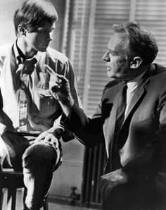 """DeWilde with Arthur Kennedy in """"The Confession"""" on 'ABC Stage 67 in 1966. © ABC Television"""