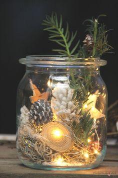 Zauberhafte Weihnachtsstimmung auf dem Balkon mit Lichterketten und VARTA + Gewinnspiel - Tischlein deck dich