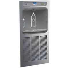 Elkay EZWSGRN8K EZH2O Bottle Filling Station In-Wall with Green Chiller