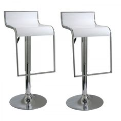 Buffalo Tools AmeriHome 31 Ctempo Bar Stool (Set of 2) Color: White - BS1083WSET
