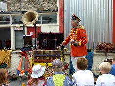 Uncle Tacko's Flea Circus entertains the young (and old). Cumbria, Fleas, Entertaining, Funny, Entertainment
