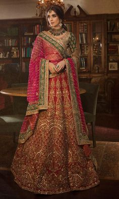 30 Exciting Indian Wedding Dresses That You'll Love ❤ indian wedding dresses lehenga red sequins panachehautecouture dresses indian bridal 30 Exciting Indian Wedding Dresses That You'll Love Latest Bridal Dresses, Indian Bridal Outfits, Indian Bridal Lehenga, Pakistani Bridal Dresses, Indian Bridal Wear, Indian Dresses, Wedding Dresses, Indian Wedding Sarees, Latest Bridal Lehenga