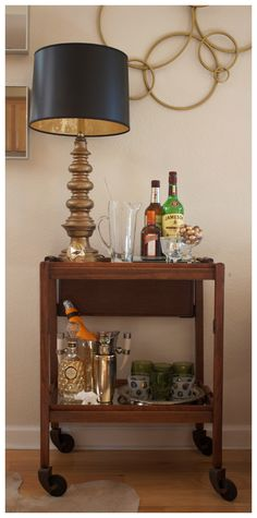BAR CART: BEFORE & AFTER