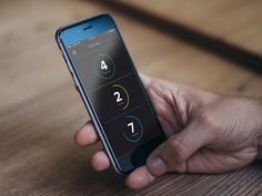 Dark Homescreen UI designed by Maximilian Hennebach. Connect with them on Dribbble; Julian Dorn, Mens Gadgets, Find People, Mobile Ui, User Interface, Mp3 Player, Homescreen, Solar Power, App Design