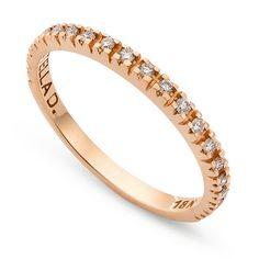 7f3f006f6 Meia Aliança Ouro Rosé e Diamantes Linha Celebrate SDMA0038R-19 - Stella  Diamonds - stelladiamonds