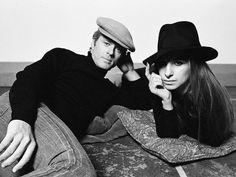 superseventies:  Barbra Streisand and Robert Redford on the set of 'The Way We Were', 1973. Photo by Steve Schapiro.