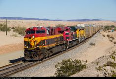 RailPictures.Net Photo: KCS 4822 Kansas City Southern Railway GE ES44AC at Colorado Desert, California by J. W. Husband