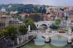 Rome, Italy....the bridges are amazing...