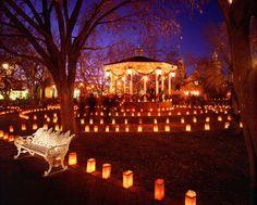 Old Town Albuquerque, Christmas Eve