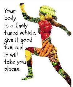 Love your body and it will love you back. Better food choices will fuel your body better than a crap meal. www.goherbalife.com for better nutrition for all bodies!