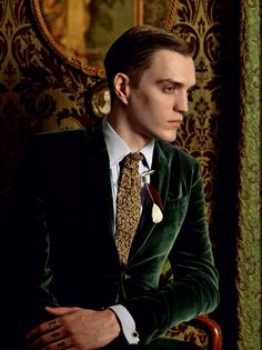 mannenmode:    'Golden age' by Kevin Mackintosh for Russia's GQ.