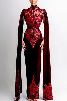 Couture Runway Fashion, High Fashion, Fashion Outfits, Beautiful Gowns, Beautiful Outfits, Mode Kimono, Fantasy Gowns, Mode Inspiration, Costume Design