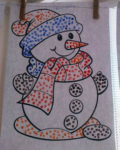 Art Drawings For Kids, Easy Drawings, Art For Kids, January Art, Diy And Crafts, Arts And Crafts, Baby Painting, Kindergarten Crafts, Winter Crafts For Kids