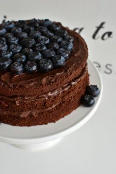 Maailman paras suklaakakku (8) Finnish Recipes, Sweet Pastries, Piece Of Cakes, Fancy Cakes, Something Sweet, Sweet Desserts, Desert Recipes, Yummy Cakes, Cake Decorating