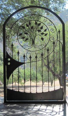 IronByChad.com Custom wrought iron railings, steel gazebos, driveway gates http://gazebokings.com/luxury-metal-framed-garden-party-gazebos/
