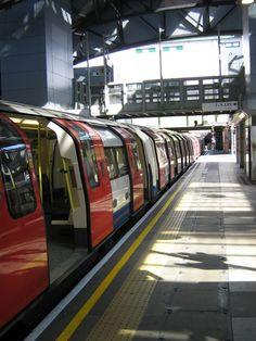London tube. A fabulous mass transit system!