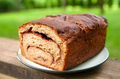 Vegan cinnamon bread: substitute bread flour for AP flour, proof the yeast first in the warm water w/ a bit of sugar, add 1/4 tsp. vanilla extract to cinnamon filling. Yum!
