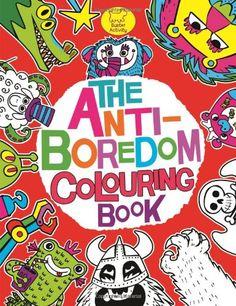 The Anti-Boredom Colouring Book (Buster Activity): Amazon.co.uk: Chris Dickason: Books